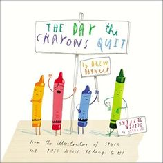 The Day the Crayons Quit by Drew Daywalt | Read why TotScoop parents say this is a must have book for preschoolers!