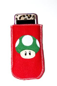 Mario sentiva caso custodia iPhone di fungo 1UP
