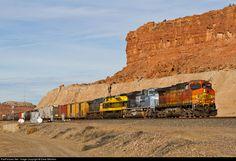 RailPictures.Net Photo: BNSF 5329 BNSF Railway GE C44-9W (Dash 9-44CW) at Marmon, New Mexico by Drew Mitchem