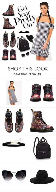 """""""Get Your Pretty On..."""" by sammie-style ❤ liked on Polyvore featuring Dr. Martens and rag & bone"""