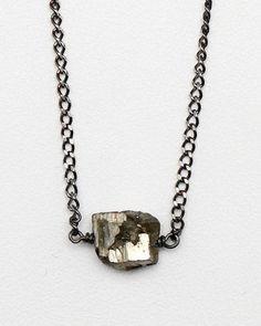 L O V E:  Miners Necklace / Garnett Jewelry