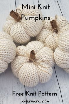 Learn how to get started with amigurumi in the knit pumpkins! Create your own cu. Learn how to get started with amigurumi in the knit pumpkins! Create your own cute little basic knit pumpkin doll with t. Baby Knitting Patterns, Knitting Stitches, Knitting Needles, Free Knitting, Halloween Knitting Patterns, Christmas Gift Knitting Patterns, Cowl Patterns, Knitting Toys, Vintage Knitting
