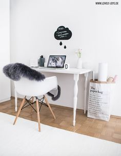 Scandinavian Nordic Interior: Working Place