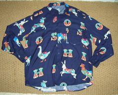 Amazing circus fairground themed animal print shirt. Wowee!  moschino   mymoschino   2cff4fd47