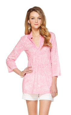 Sarasota Beaded Tunic - Lilly Pulitzer