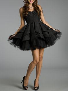 Sassy Black Strapless Ruched Short Hottest Miler Cocktail Dress