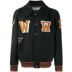 Kids varsity baseball veste personnalisé avec authentique us college lettre w