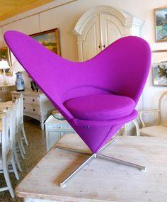 PANTON - heart chair