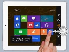 Get Windows 8 Metro UI For Android Tablet & iPad : Superb App