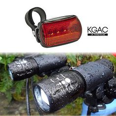 2x cree q5 led mountain bike #bicycle cycling zoomable #torch front + rear #light,  View more on the LINK: http://www.zeppy.io/product/gb/2/130973427935/