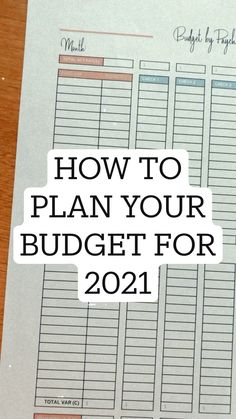 Making A Budget, Create A Budget, Budgeting Finances, Budgeting Tips, Monthly Budget Template, Money Plan, Budget Organization, Budgeting Worksheets, Family Budget