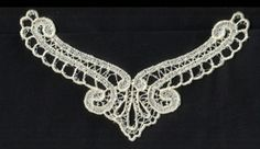 Elegant Neckline Free Standing Lace FSL Machine Embroidery Design