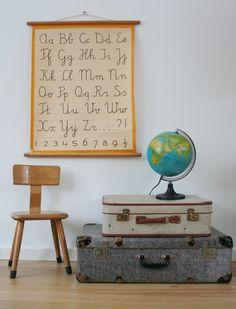 Travel Inspired Kids' Rooms for Mini Globetrotters Inspiration For Kids, Room Inspiration, Kids Decor, Home Decor, Kids Corner, Boy Room, Kids Bedroom, Kids Rooms, Colorful Interiors