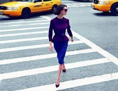 Publicité escarpins violets - Collection AH12 | #dior #purple #shoes