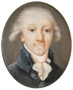 Miniature of the Marquis de Lafayette.