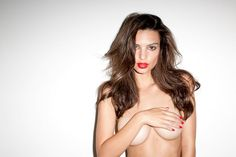 Emily Ratajkowski no top, no bra more photos here: http://www.famousnakedcelebrities.com/models/emily-ratajkowski-topless-again-in-2014/