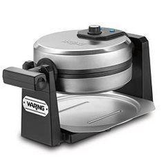 Waring Pro Round Belgian Flip Waffle Maker