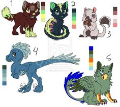 Green Flame,Turtlefur,Nutterton,Periwinkle, and Snake!