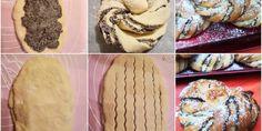 szenhidratcsokkentett-csavart-makos-brios Brie, Paleo, Cookies, Desserts, Food, Crack Crackers, Tailgate Desserts, Deserts, Eten