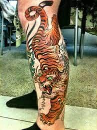 Japanese Tiger Tattoo 21 Japanese Tiger Tattoo Tiger Tattoo Mens Tiger Tattoo
