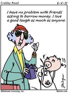 Leaping the Chasm - Maxine Humor - Maxine Humor meme - - Leaping the Chasm Maxine Humor Maxine Humor meme Leaping the Chasm Maxine Humor Maxine Humor meme The post Leaping the Chasm appeared first on Gag Dad. Funny Cartoons, Funny Jokes, Hilarious, It's Funny, Funny Sayings, Senior Humor, Aunty Acid, Borrow Money, Getting Old