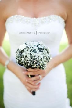 Custom Order Brooch Bouquet by nicolasacicero on Etsy, $110.00