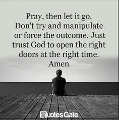 If you're finding it hard to bring your thoughts around to trusting God in this season, here is a roundup of 21 quotes we hope will inspire your faith. The Words, Trust Quotes, Quotes To Live By, Bible Quotes, Me Quotes, Sweet Quotes, Daily Quotes, A Course In Miracles, Spiritual Quotes