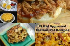I came up with this awesome roundup of Kid Approved Instant Pot Recipes.