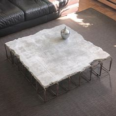 70 Extremely Unique Coffee Tables You Can Acquire! - Home Like Art Unique Coffee Table, Diy Coffee Table, Coffee Table Design, Coffee Coffee, Unique Furniture, Industrial Furniture, Furniture Design, Beton Design, Concrete Design