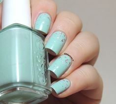 Nailpolis Museum of Nail Art | Silver Rain by Marine Loves Polish