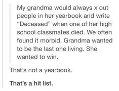 Better don't mess with granny