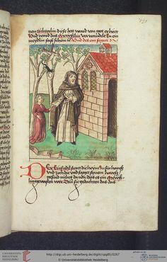 Cod. Pal. germ. 85: Antonius von Pforr: Buch der Beispiele (Schwaben, um 1480/1490), Fol 130r