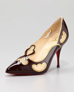 S8165 Christian Louboutin Indies Tooled Pump