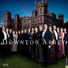 Downton Abbey 2014 Wall Calendar: 9780789326362