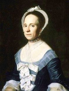 1770 John Singleton Copley (American colonial era artist, 1738-1815) Ann Holmes (Mrs. William Coffin)