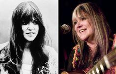Melanie Safka en 1973 et 2006