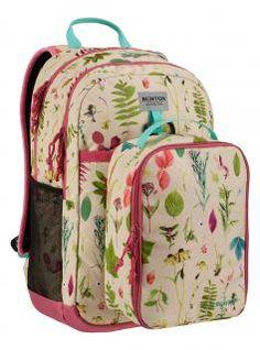 KD Lunch-N-Pack Mädchenrucksack Cremebrulee Oakledge beige,rosa Nylons, 35l Backpack, Burton Kids, Finding A House, Lost & Found, School Bags, Snowboarding, Bag Accessories, Diaper Bag