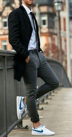 9 Prodigious Useful Ideas: Urban Fashion Editorial Street Style urban wear swag.Urban Fashion For Women Black. Fashion Mode, Urban Fashion, World Of Fashion, Fashion Trends, Fashion Ideas, Fashion Quotes, Style Fashion, Guy Fashion, Fashion Menswear