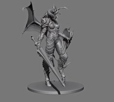 Meat machine: Demon lancer sculpt