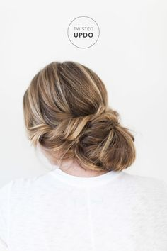 Twisted updo: http://www.stylemepretty.com/2015/04/30/bridal-beauty-twisted-up-do/ | Photography: Ruth Eileen - http://rutheileenphotography.com/