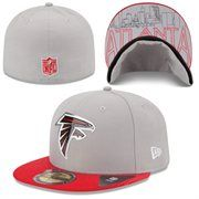 Atlanta Falcons New Era 2015 NFL Draft 59FIFTY Fitted Hat - Gray