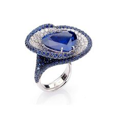 The royal sapphire ❤ liked on Polyvore
