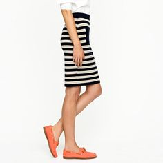 stripes and orange