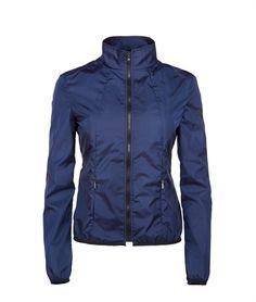 NOLITA JACKET - Refrigiwear - Giubbotto in nylon leggero con profili interni in tessuto stampato microcheck