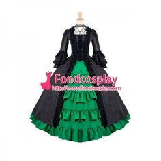 Fond Cosplay : Medieval Gown - O Dress Gothic Clothing School Uniforms Lolita Clothing Medieval Gown Venice Carnival Movie Costumes Cosplay Wig Cosplay Shoes Anime Costumes Game Costumes Other Costumes Cosplay Accessories Sissy Maid Uniform New Arrival Victorian Ball Gowns, Victorian Gothic, Medieval Gown, Rococo, Costume Accessories, Gothic Fashion, Cosplay Costumes, Custom Made, Evening Dresses