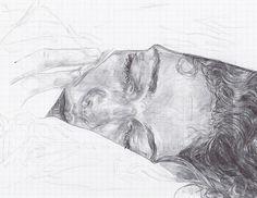 Drawings by artist Neva Hosking. More images below. Neva Hosking on Instagram Via: My Darkened Eyes