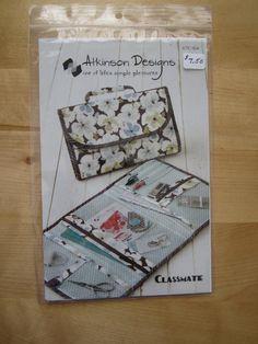 Atkinson Designs Classmate Pattern - Purse & Accessory Patterns