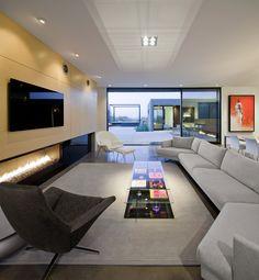 Imagen 13 de 20 de la galería de Residencia Levin / Ibarra Rosano Design Architects. Fotografía de Bill Timmerman