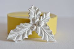 0331 Holly Berry with Leaves Silicone Rubber by MasterMolds, $7.00