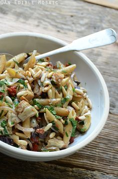 Mediterranean Pasta Salad  by anediblemosaic #Salad #Pasta #Mediterranean